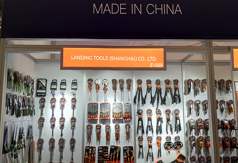 LANDING TOOLS (Shanghai ) Co.,Ltd attended International Hardware Fair in Cologne Germany 2018