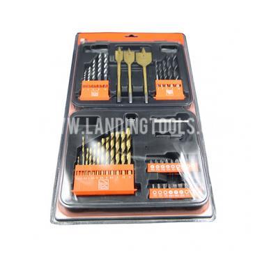 Economical Custom Design 46PCS Combination Drill Set  P10080