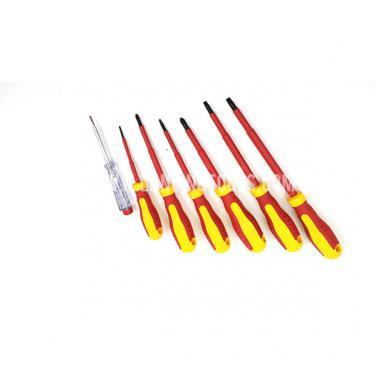 7 piece  VDE 1000 V Electric Insulated Screwdriver Set   310107