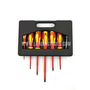 7 Piece  VDE 1000 V Electric Insulated Screwdriver Set   310108