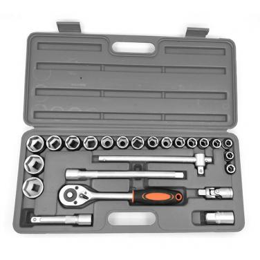 "24pcs 1/2"" Dr .Socket Wrench Set With Chrome Vanadium Steel.     701505"