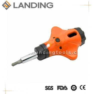 7-IN-1 LED Ratchet Screwdriver And Bits Set   644101