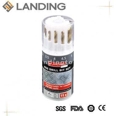 11pcs HSS Twist Drill Bit Set  470704