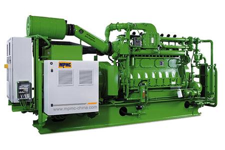 Grupo generador a gas