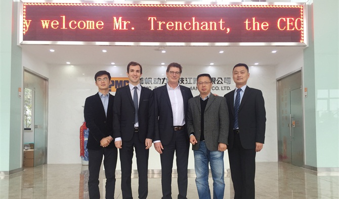 Leroy Somer Global and its team visit the factory of MPMC