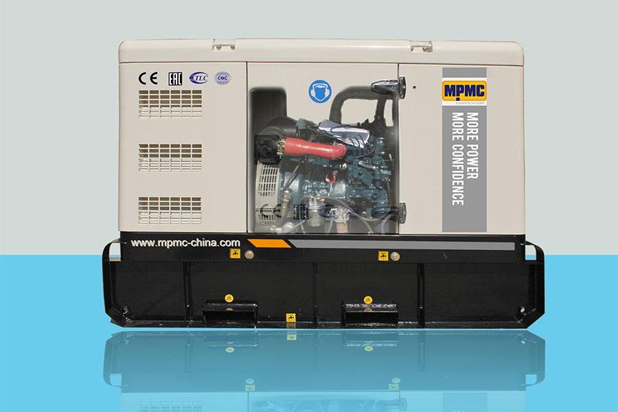 Kubota Silent Diesel Generator Made By MPMC