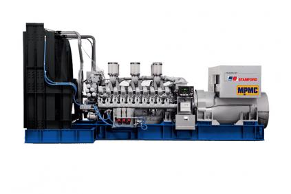 MTU Open Diesel Generator Made By MPMC
