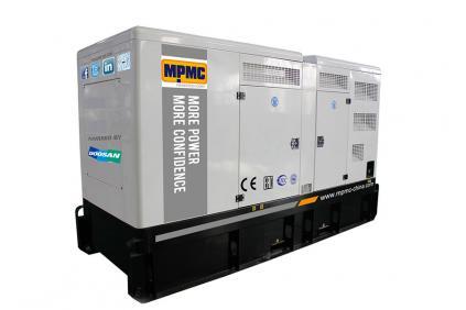 Generador diesel silencioso Doosan