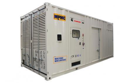 Generador diesel en contenedor Cummins