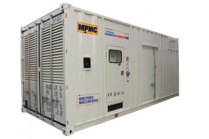 Generador diesel en contenedor Perkins