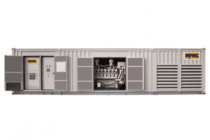 Generador diesel en contenedor MTU