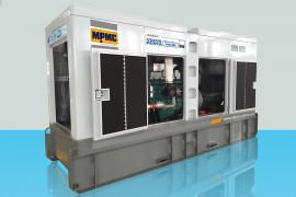Volvo Silent Diesel Generator Made By MPMC
