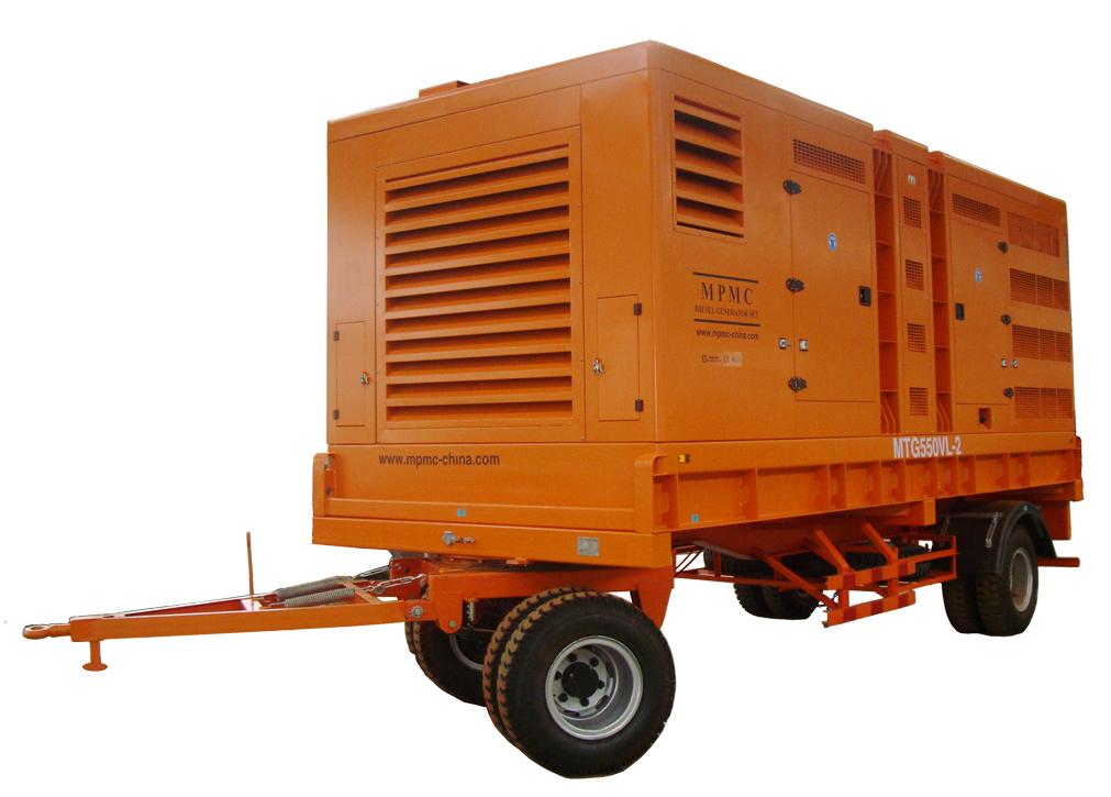 拖车型发电机组 Made By MPMC