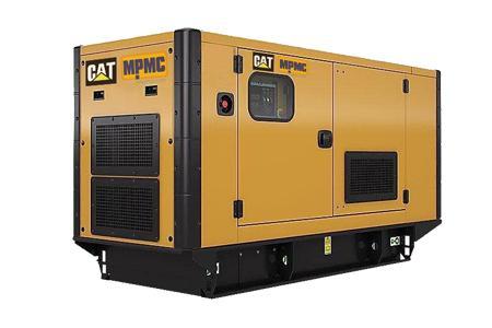 卡特静音式柴油发电机组 Made By MPMC
