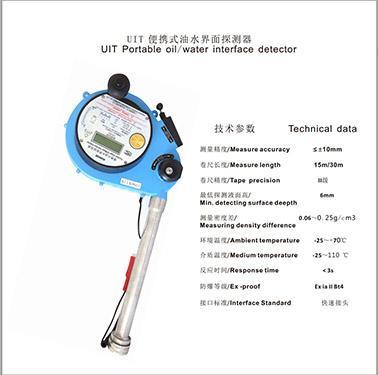 Detector de Interfase Aceite/Agua Portable