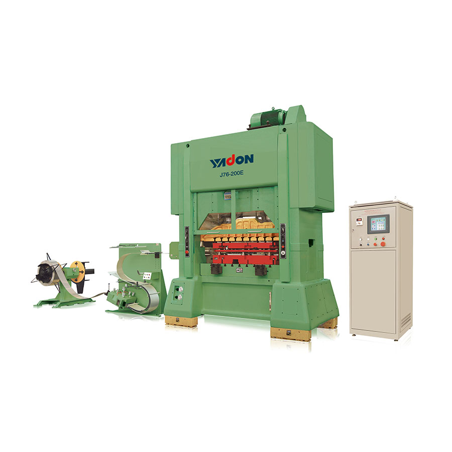 J76 Series Straight Side High-speed Two-point Press Line