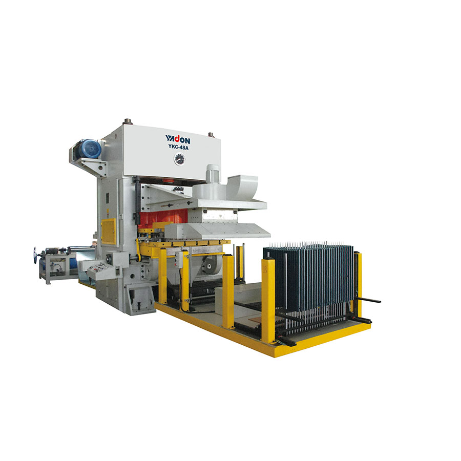 YKC Series H-type Frame High-speed Fin Press Lines