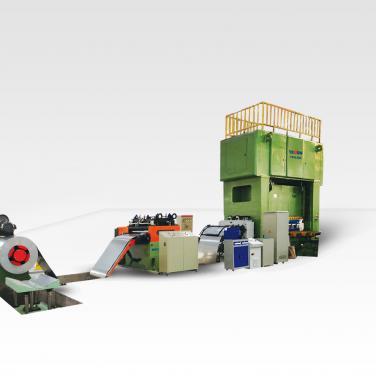 YPHモーターラミネーションの生産ライン(ビッグサイズモーター)