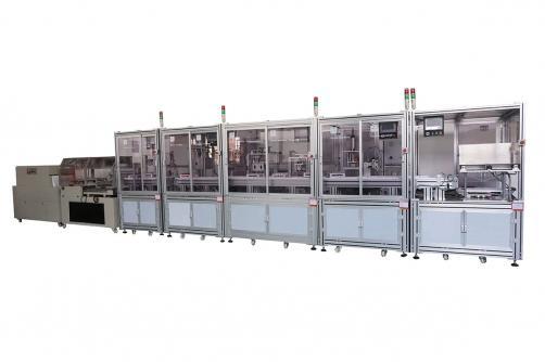 Модульная Автоматическая Производственная Линия Вакуумных Пробирок для Забора Крови
