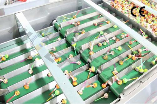 Lollipop Counting Filling Machine