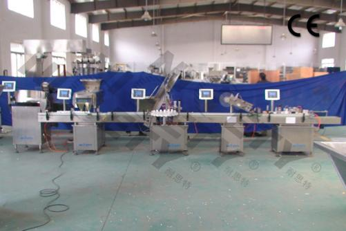 Chewing Gums Counting and Bottle Packing Line