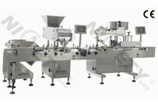 Automatic Bottle Packing Line For Tiny Pills