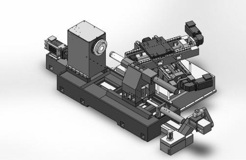数控旋压车削一体机(单旋轮)SIO-SG1500
