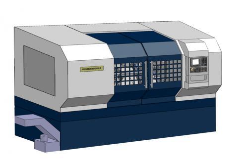 数控铣端面打中心孔机床SIO-FC1500