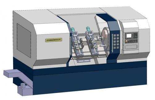 数控铣端面打中心孔机床SIO-FC2000