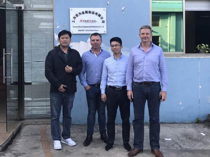 NZ Client Visit for New Project Development