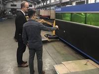 US Customer Visit Sheet Metal Workshop