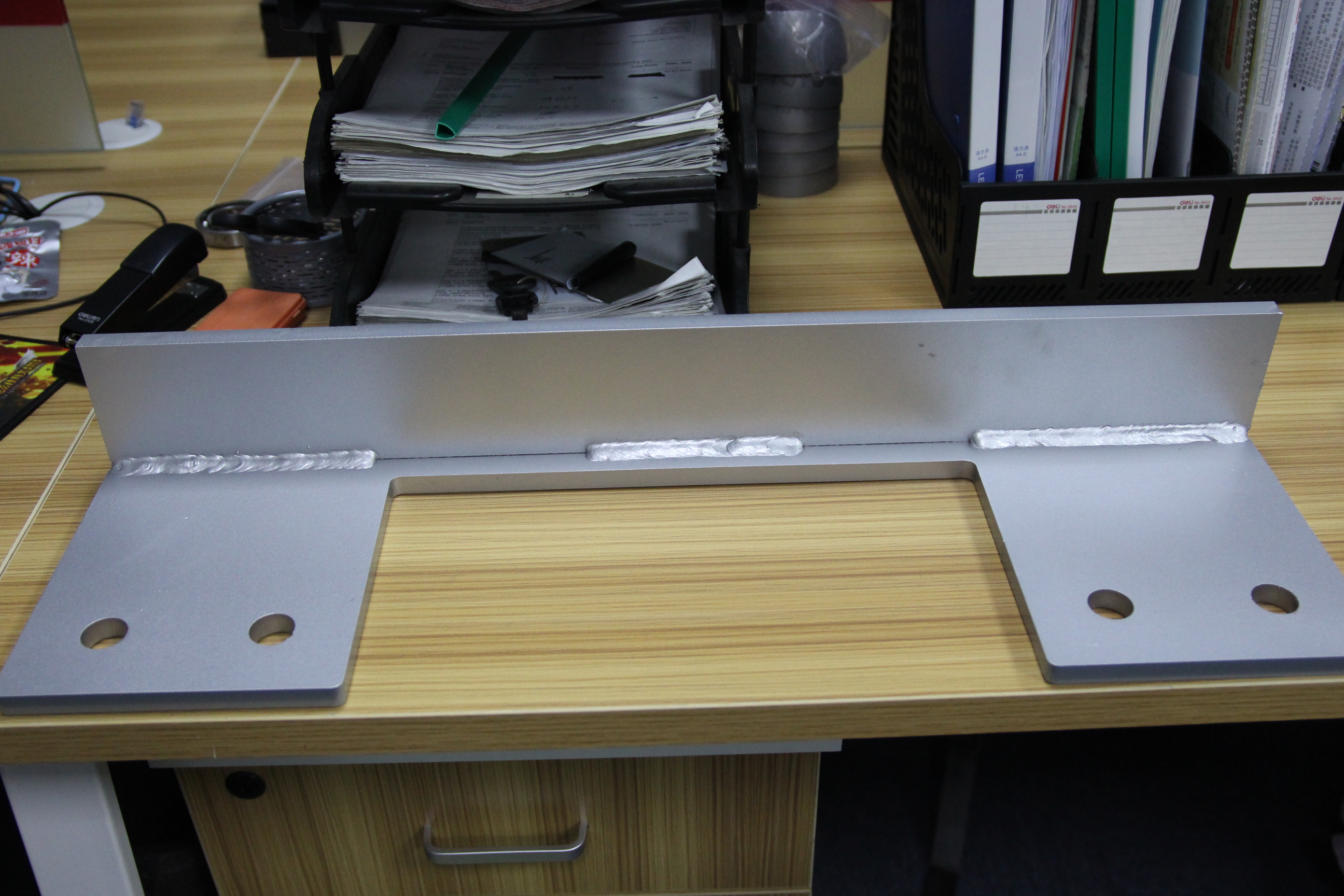 Mounting Plate_Powder cutting