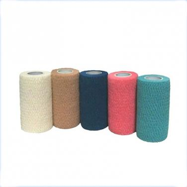 "Waterproof Medical Cotton 6""*5 yards Cohesive Bandage"
