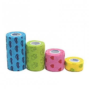 Soft Flexible Printed Vet Wrap Bandage(CE Approved)