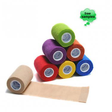 "Hospital Disposable 3""*5 yards Latex Free Cohesive Bandage"