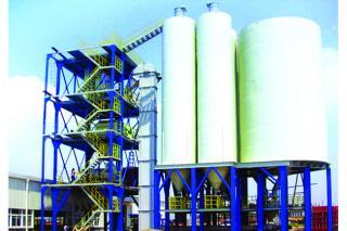 خط إنتاج الملاط الجاف