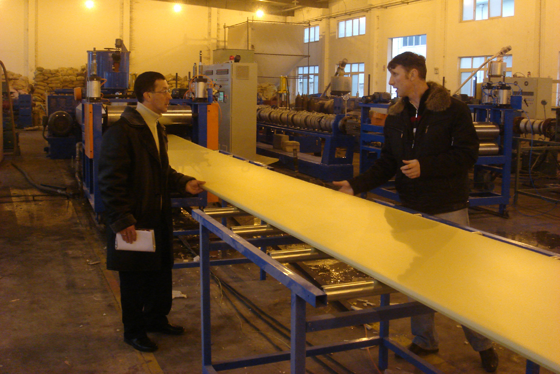 XPS Production Line in Nishini Novogord, Russia