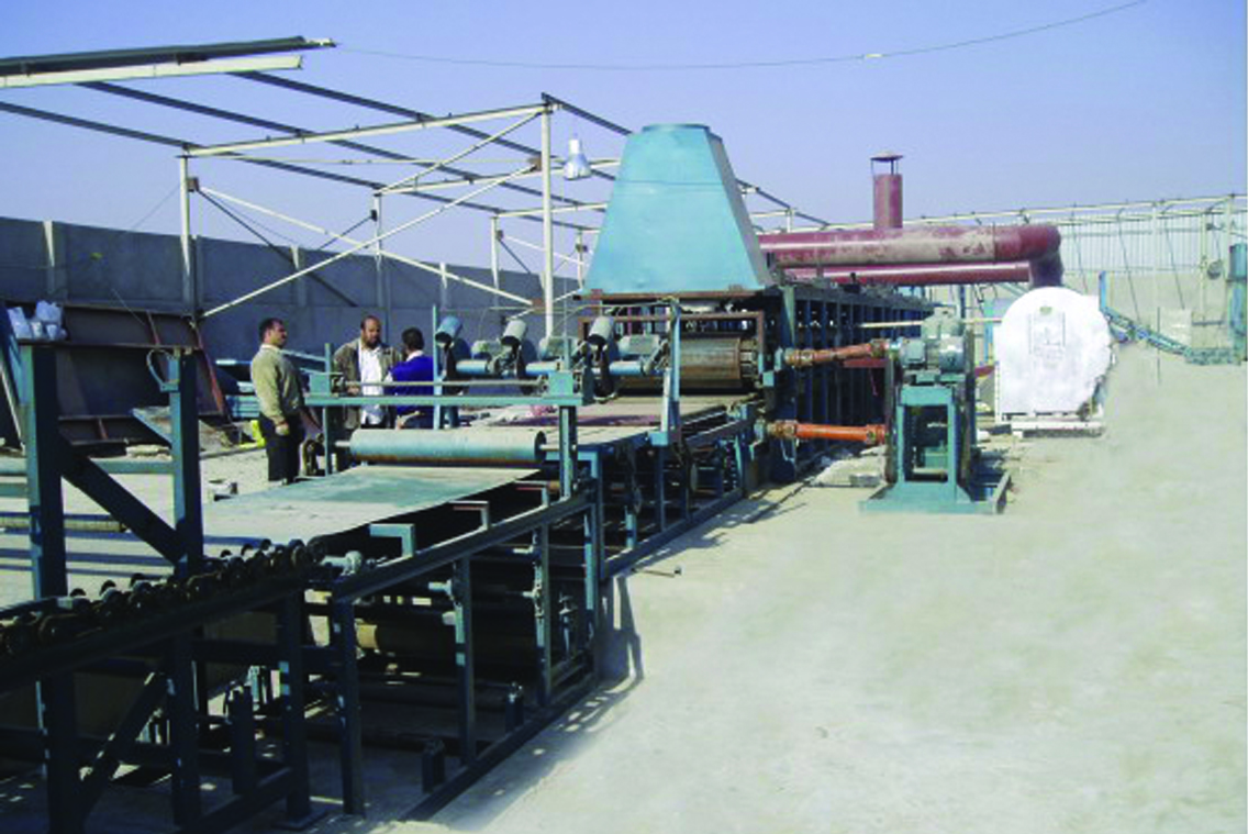 Rock Wool Production Line in Cairo, Egypt