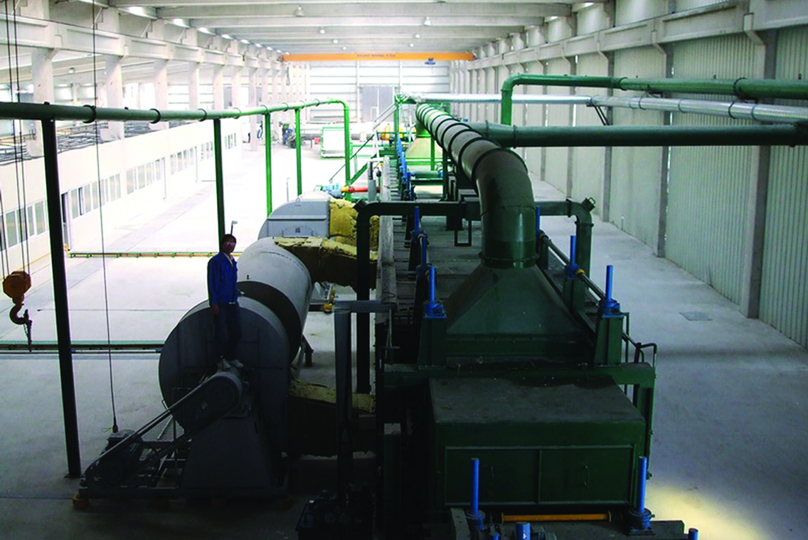 Rock Wool Production Line in Istanbul, Turkey