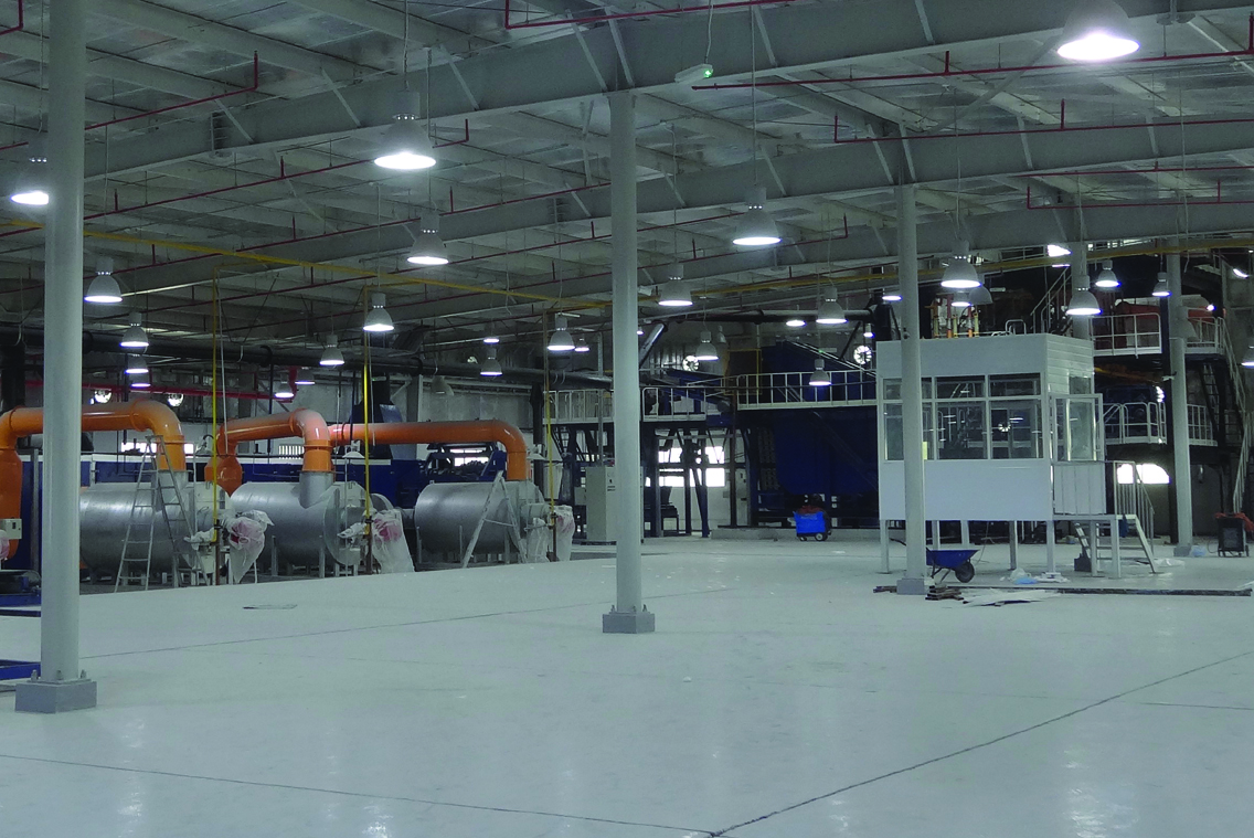 Rock Wool Production Line in Doha, Qatar