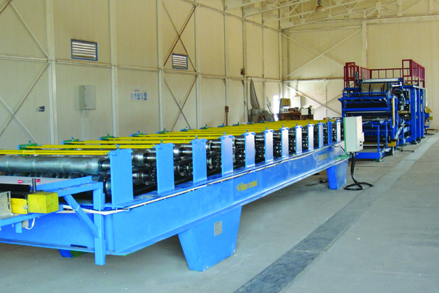 EPS / Rock Wool Sandwich Panel Lamination Line