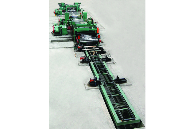 Leveling Cut-to-Length Line