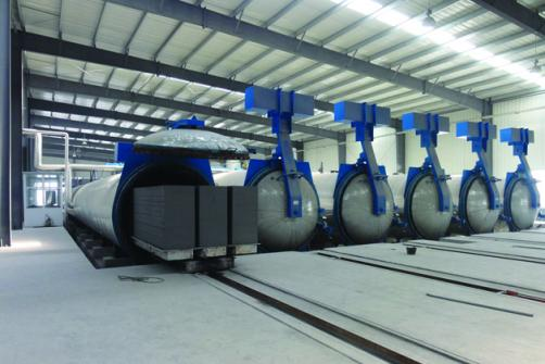 Autoclaved Aerated Concrete Production Line