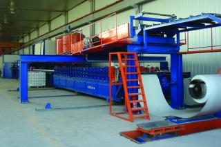 Z-Lock Sandwich Panel Production Line