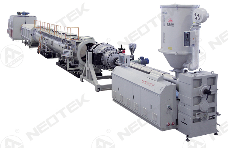 Water Supply and Gas Supply PE Pipe Extrusion Line