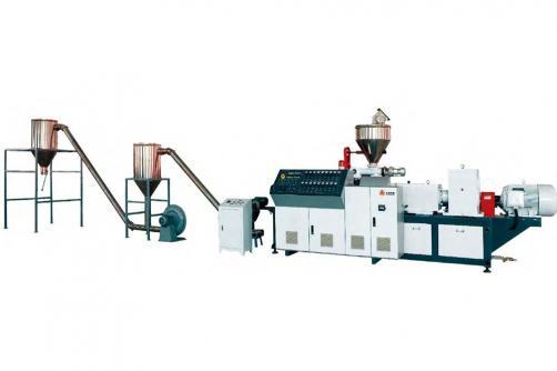PVC木塑造粒生产线