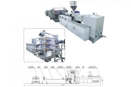 PVC透明片生产线