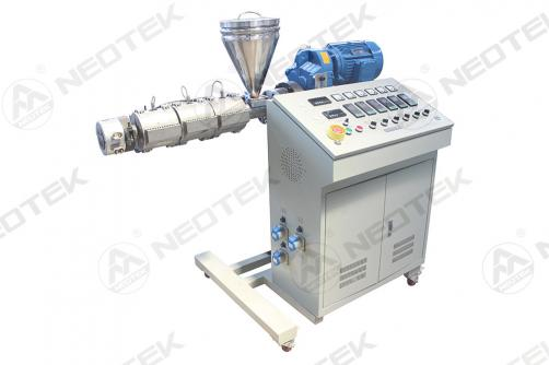 Mini single screw lab extruder
