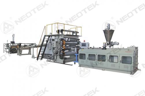 PVC Faux Marble Sheet Extrusion Line