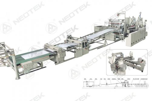ABS Single Layer, Multi-Layer Composite Sheet Extrusion Line